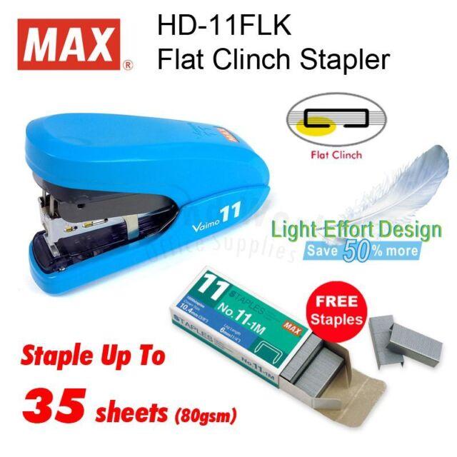 Max Hd-11Flk Blue Vaimo Stapler