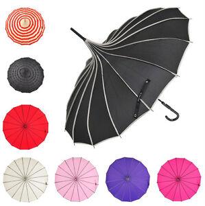 8 farben sonne regen regenschirm pagode lisbeth dahl hochzeit braut parasol ebay. Black Bedroom Furniture Sets. Home Design Ideas