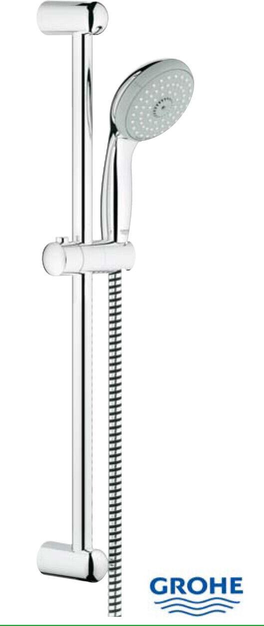Grohe saliscendi doccia con doccetta a 3 getti 60 cm cromato arrougeo bagno