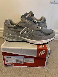 New Balance 990v3 Grey M990GL3 Size 11