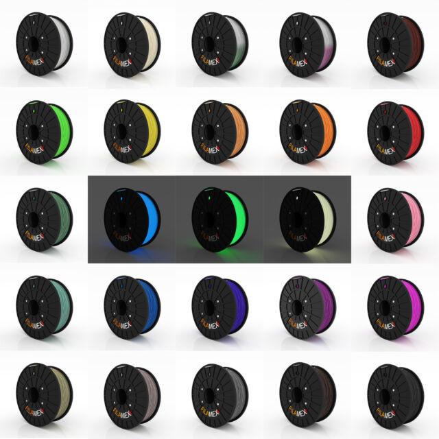 3D Printer Filament 1kg/2.2lb 1.75mm 3mm ABS PLA Nylon 30 Colors 0.5kg/1.1lb