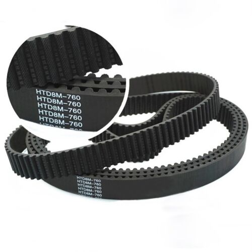 HTD8M 1200 Synchronous Wheel Close Loop Timing Pulley Belt Width 25//30mm