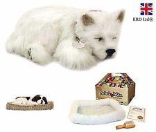 Precious Petzzz WESTIE Lifelike Breathing Cute Puppy Dog Pet Birthday Gift UK