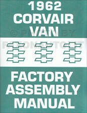 1962 Corvair 95 Van and Pickup Assembly Manual Greenbrier Rampside Corvan Chevy