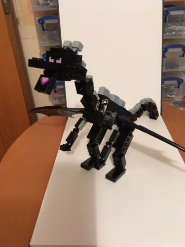 RARE LEGO MINECRAFT ENDER DRAGON FROM SET 21117