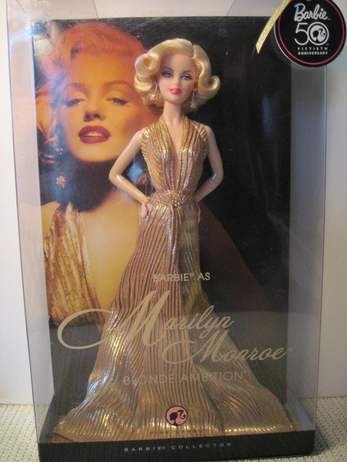 12  Marilyn Monroe Barbie 2008 Mattel
