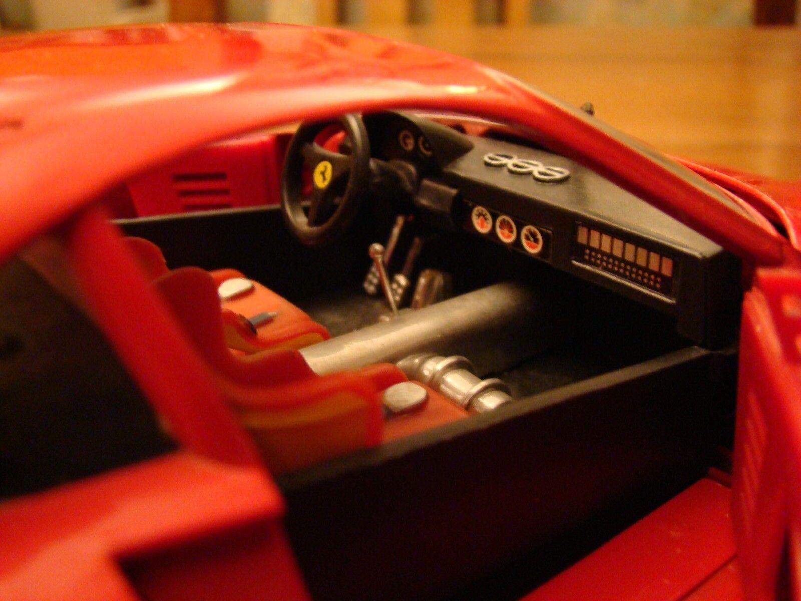 1 18 FERRARI 288 GTO Evoluzione V8 rouge rouge rouge rouge Groupe B TWIN TURBO RCAAP conduits RARE 8b2b2e