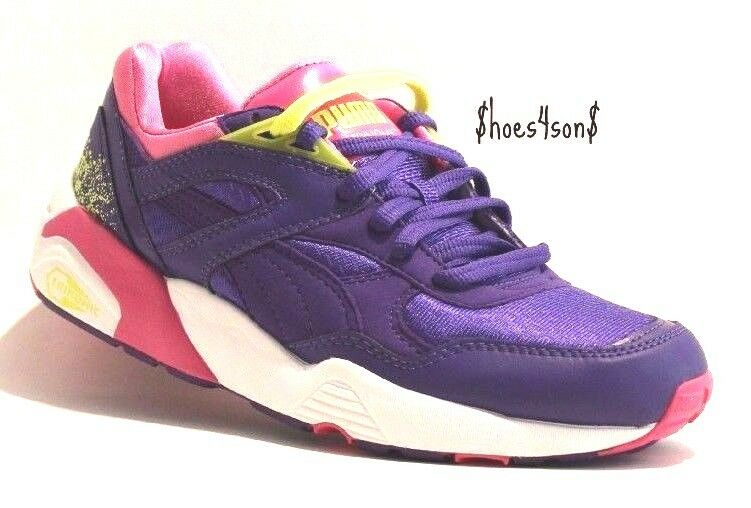 Puma Women's Trinomic R698 Sport Fashion Sneaker, Prism purple, Size 7.5 M US