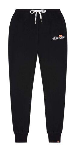 ellesse Mens Nioro Logo Jogging Bottoms Sweat Jog Pants Trousers Black Blue Grey