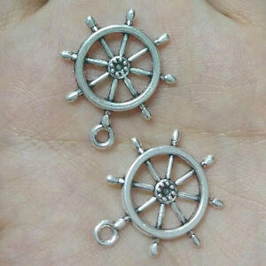 10pc-Tibetan-Silver-mechanical-gear-Pendant-Charms-Bead-Findings-Accessories-023