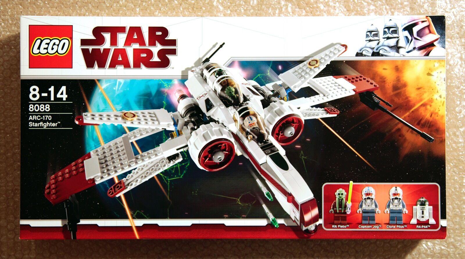 LEGO STAR WARS COLLECTOR - ARC 170 Fighter - ref 8088 - Boîte neuve scellée MISB