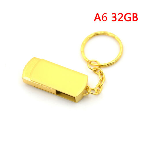 Gold metal key chain usb3.0 pen drive usb flash drive memory stick4//8//16//32H3 BH