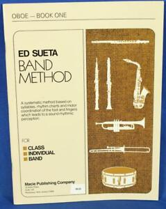 DernièRe Collection De Ed Sueta Band Method Oboe Book 1 Woodwind Music Instruction-afficher Le Titre D'origine Acheter Maintenant