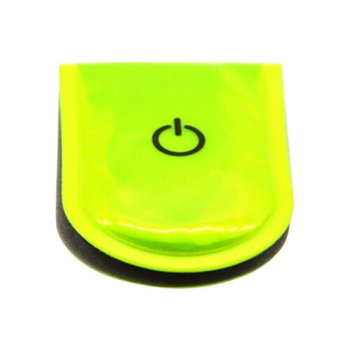 CW/_ LED Safety Light Reflective Magnet Clip On Strobe Running Bike Cycling Hot