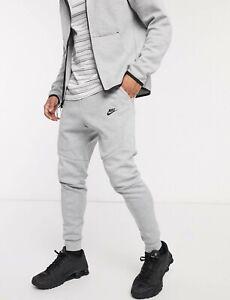 Nike Tech Fleece Men S Jogger Pants Grey Heather 805162 063 Ebay