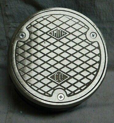 """CO 4020NBTOP4-NS 5 3//4/"""" Nickel Bronze Floor Cleanout JAY R SMITH MFG"""
