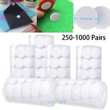 sticky back coins hook+loop adhesive dot tapes smooth surface magic stickers 0B