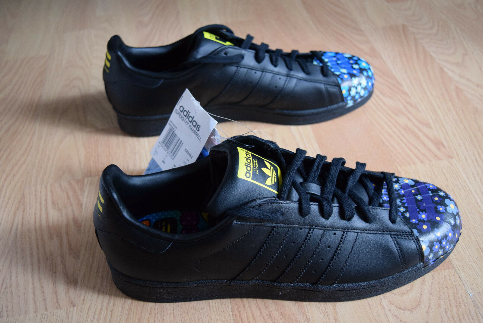 Adidas Superstar smitH Pharell 46 46,5 48,5 Williams sTan smitH Superstar pw Supercolor S83352 7b6916