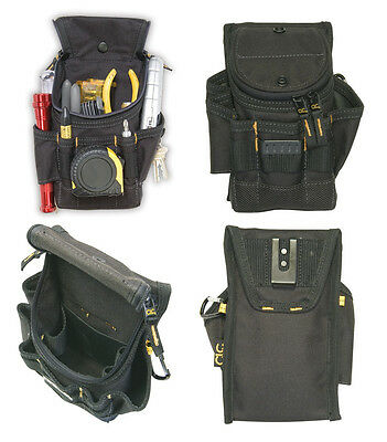 CLC 1523 Small ZIPTOP Utility Maintenance Electrician Zippered Tool Belt Pouch