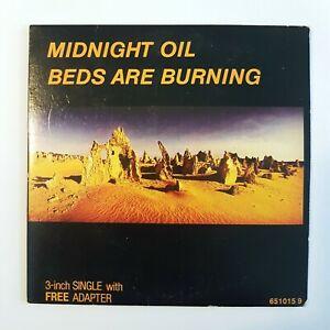 MIDNIGHT-OIL-BEDS-ARE-BURNING-RARE-CD-MAXI-3-034-CD-ADAPTATOR