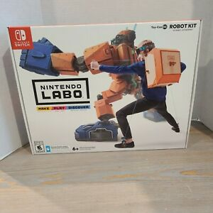 Lot-of-2-Nintendo-Switch-LABO-Robot-TOY-CON-02-amp-VR-KIT-04-NEW-SEALED