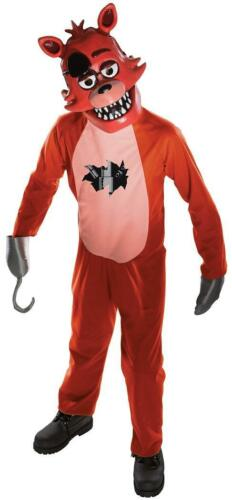 Foxy Fox Five Nights Freddy/'s Video Game Fancy Dress Halloween Child Costume