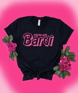 Cardi-B-T-Shirt-Bardi-Gang-Hip-Hop-Women-039-s-Tee-Latina