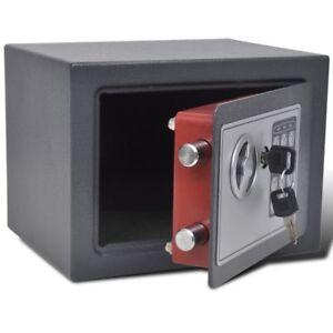 Caja fuerte electrónica digital 23 x 17 x 17 cm Seguridad empresarial y de hogar