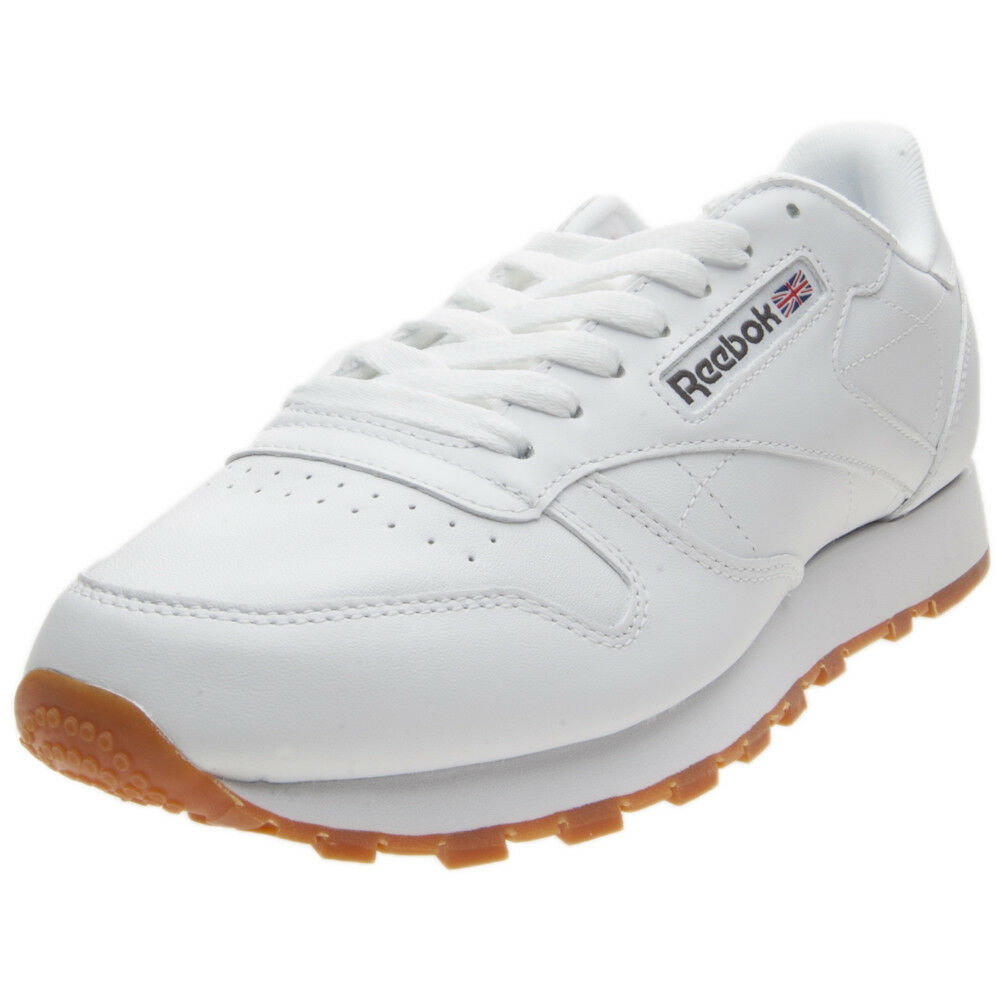 Schuhe Reebok Reebok Schuhe Klassisch Leather 49799 Weiß edb972