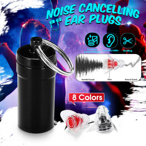 Noise Cancelling Ear Plugs 20DB Hearing Protection Concerts Music Sleeping