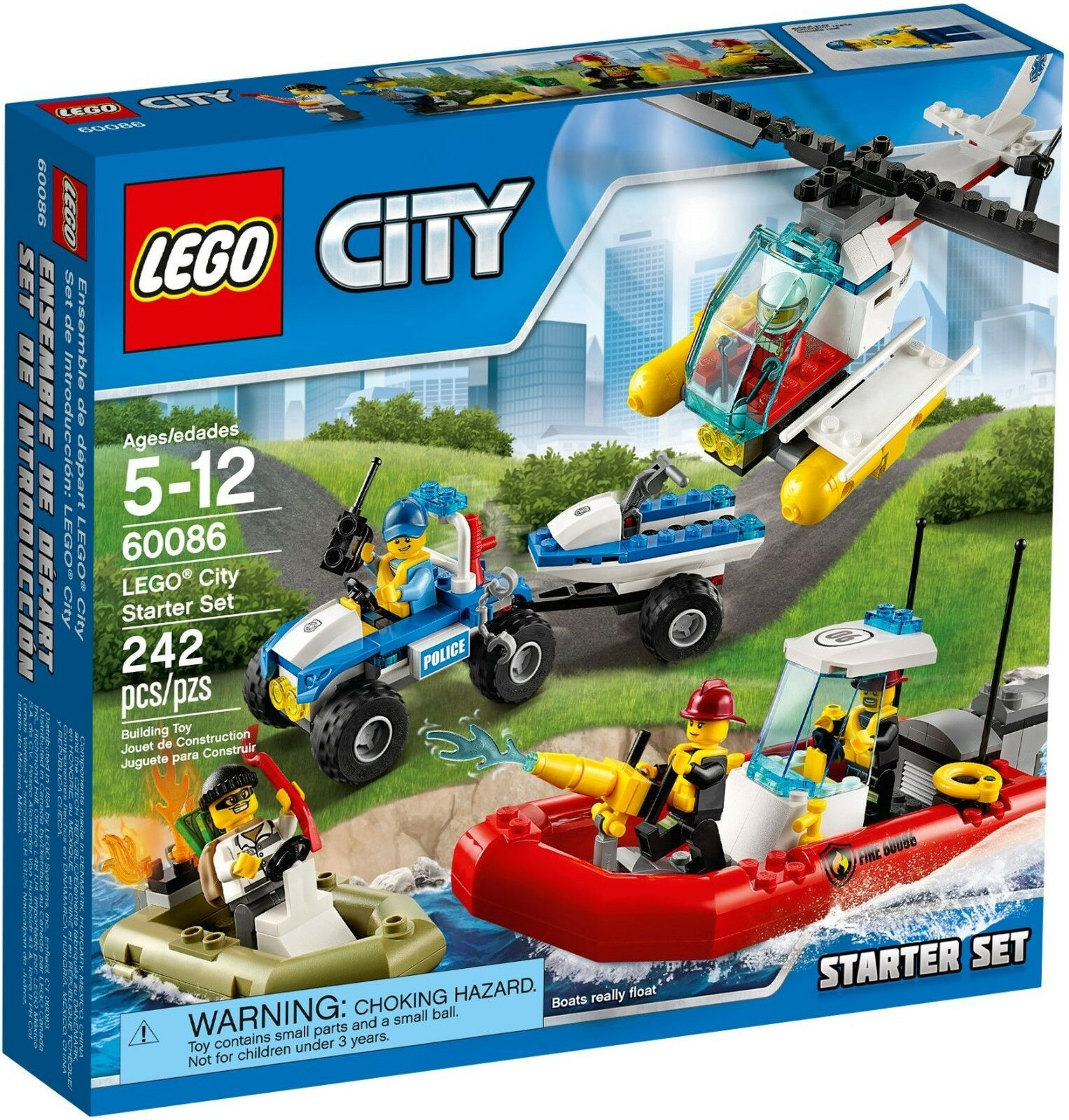 LEGO City Starter Set 60086 - Brand New