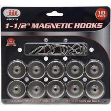 10 PCS MAGNETIC HOOKS SUPER STRONG HOLDS 8 LBS Magnet Kitchen Refrigerator Rack
