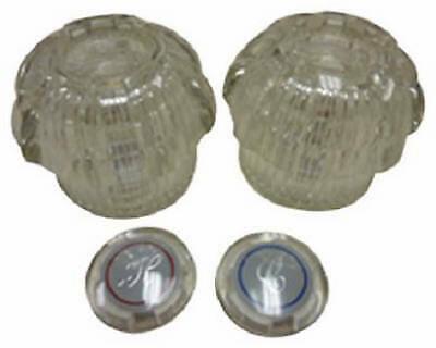 HOMEWERKS WORLDWIDE 31-1204-BP BayPointe 2 Hand Acrylic Handle