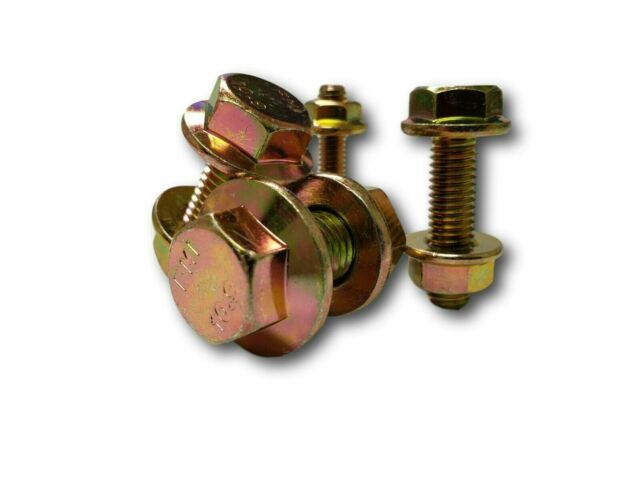 Pack of 4-107357 Wedge Bolt With Nut Fits IHC