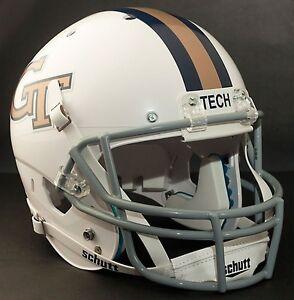 GEORGIA-TECH-YELLOW-JACKETS-Football-Helmet-FRONT-TEAM-NAMEPLATE-Decal-Sticker