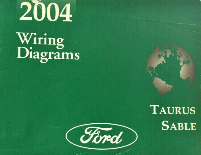2004 Ford Taurus  Sable Wiring Diagrams