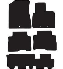 Kia Sorento Tailored alfombrillas de (2012 En Adelante) - Negro