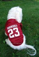 Oklahoma Sooners Nylon Dog Jersey Size Choice Doggie Sports