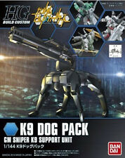 Gundam HG Build Custom 009 K9 Dog Pack Gm Sniper K9 Support Unit 1/144 Model Kit