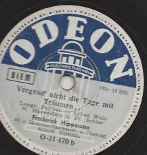 Eugen Vogel mit Tanzorchester Hippmann : Voll Musik ist die Nacht