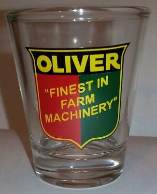 Shot Glass A Very Nice Oliver Tractor Tractors 1//2 oz
