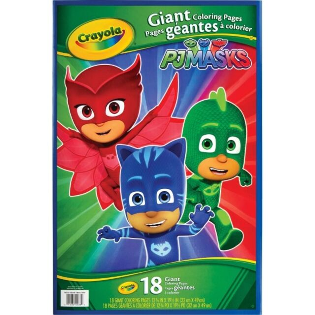 Crayola PJ Masks Giant Coloring Pages (cyo 040078) (cyo040078)