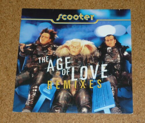 1 von 1 - Maxi LP Scooter The Age of Love Remixes