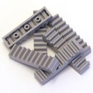LEGO TECHNIC Medium Stone Grey 1x4 Racks à dents bars 6 pièces - 3743 4211450 nouveau  </span>