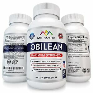 Details About 1 Obilean Fast Rapid Weight Loss Diet Pills That Work Best 37 5 Extreme Powerful