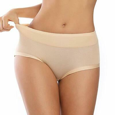 Defitshape Womens Slimming Shapewear Shorts Tummy Control Brief Waist Cincher Solid Shaper