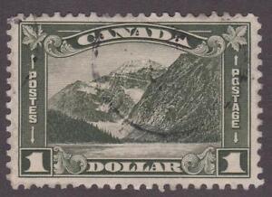 """Canada 1930 #177 King George V """"Arch/Leaf"""" Issue Used VF"""