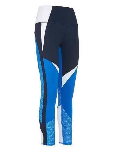 Athleta High Rise Precision 7//8 Tight Bristol Blue//Navy SIZE XS   #653888 v1113