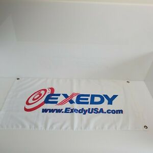 Exedy-USA-Clutches-Banner-Flag-37-5-034-x18-5-034-White