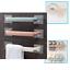 3Pc  Towel Rail Rack Holder Wall Mounted Bathroom Self Adhesive Hanging Hanger